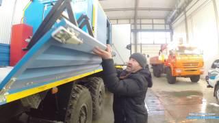 Константин-ПРО маслостанцию на базе Урал с манипулятором ИМ-95.
