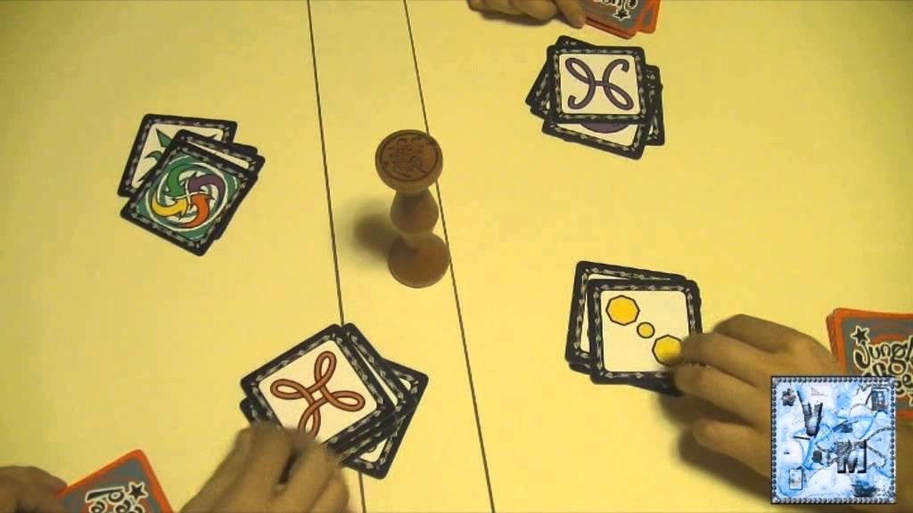 Jungle speed juego de mesa gameplay youtube for Viciados de mesa