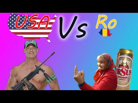 America vs Romania