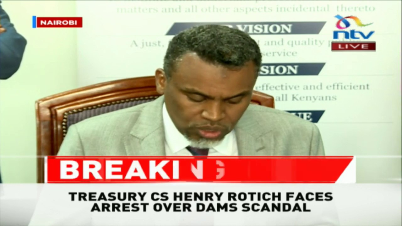 Image result for cs rotich arrested
