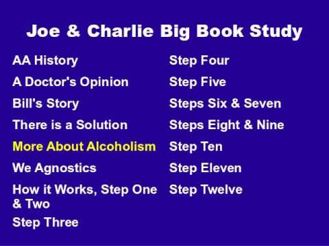 Joe & Charlie Big Book Study Part 5 Of 15 - More About Alcoholism