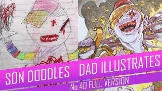 DRAWING with my kids - FLAME DJINN [FULL VERSION] No.40