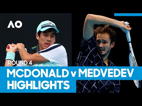 Mackenzie McDonald vs Daniil Medvedev Match Highlights (4R) | Australian Open 2021