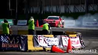 King of Drift Asia 2015 - Natural Sound - (Toyota Corona, Nissan 240sx, Silvia S2000 & many.)