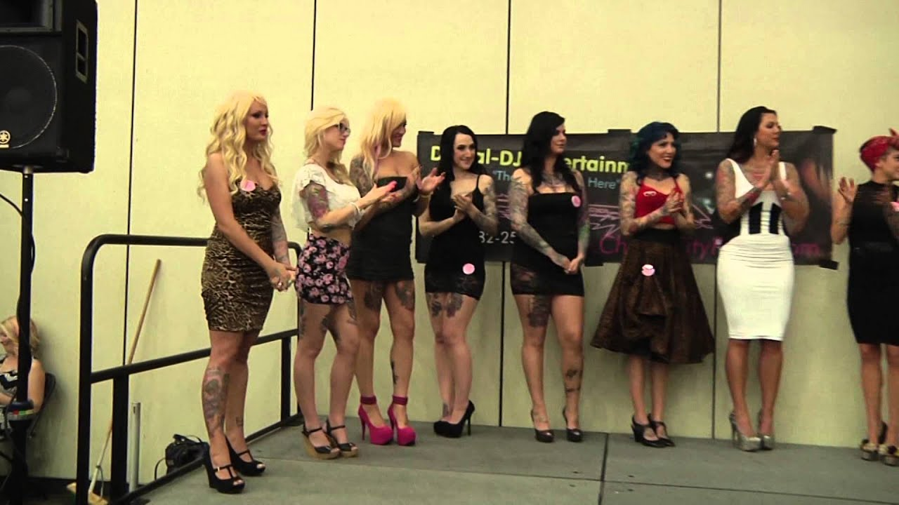 Miss tattooed baltimore 2014 anne arudel video youtube for Miss tattoo pageant
