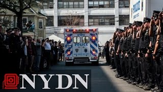 Thousands of Cops Expected at Services for Slain NYPD Officer Brian Moore