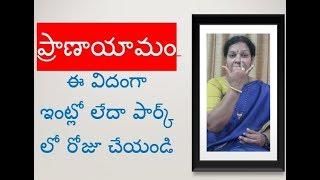 5 Types of Golden Breathing Exercises - In Telugu