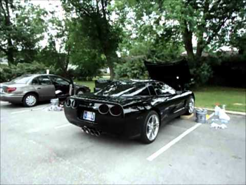 Loud Cammed C5 Corvette T-Rex cam, long tube headers, slp loudmouth straight pipe exhaust