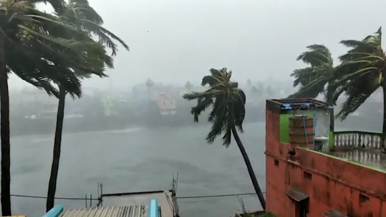 Cyclone Fani hits India's east coast