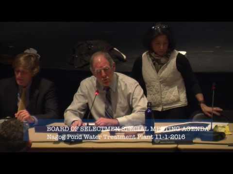 Selectmen Meeting 11/1/16