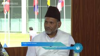 Talk with Heads of Departments - Jalsa Salana Germany 2015