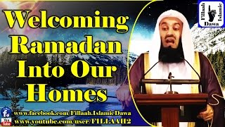 Welcoming Ramadan Into Our Homes - Mufti Ismail Menk - 30 May 2015