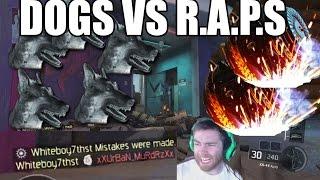 Black Ops 3 R.A.P.S vs DOGS Score Streak  (Black Ops 3 RAPS Kill Streak vs Black Ops 3 Dogs)