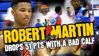 Larry Abby, Damien Mayo GO CRAZY BUT Rob Martin Stole The Show Drops 51 PTS On A BAD Calf!!!