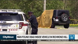 Man found dead in Richmond Hill