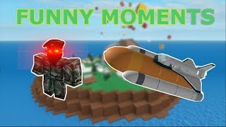 Natural Disaster Survival|| Funny Moments(ROBLOX)