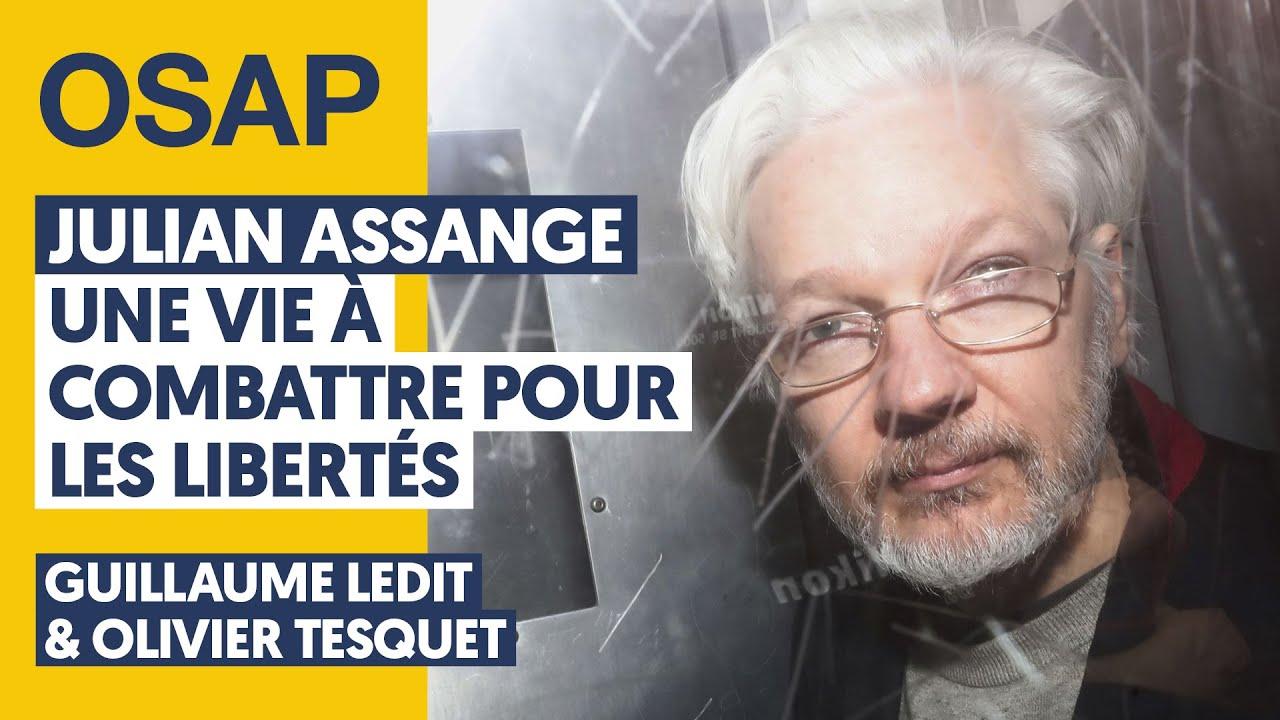 Download JULIAN ASSANGE : UNE VIE À COMBATTRE POUR LES LIBERTÉS  | G. LEDIT, O. TESQUET, J. THÉRY