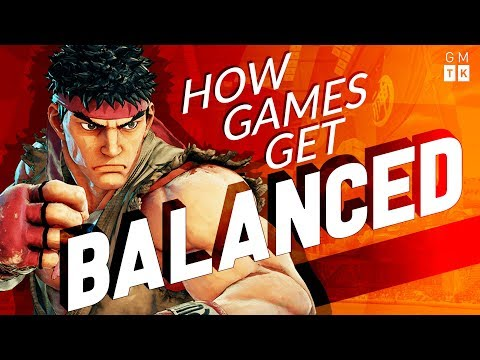 how games get balanced game maker s toolkit