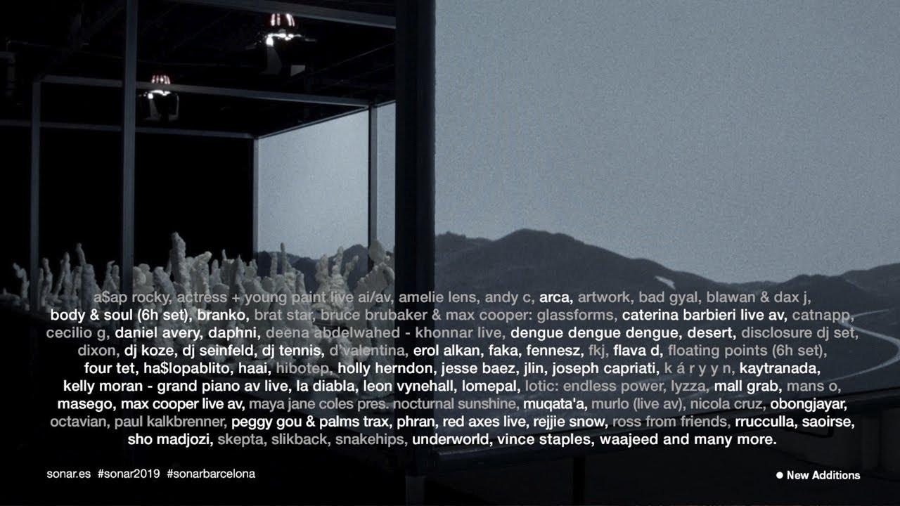 Sonar Festival 2020.News Sonar Barcelona 2020