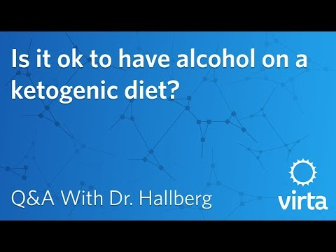 Dr. Sarah Hallberg: Is it ok to have alcohol on a ketogenic diet?