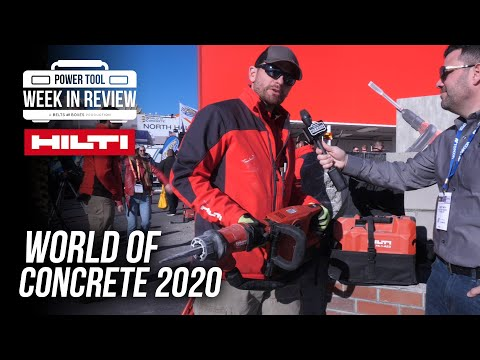 [NEW TOOLS] HILTI pushes into NEW TERRITORY in 2020! World of Concrete Hilti Booth!
