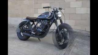 Suzuki Gn400 Bobber Brat Cafe Style Youtube