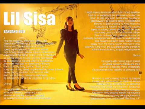 Bandang huli by: Lil Sisa ( new love song)