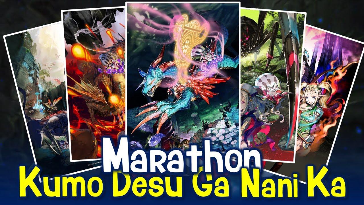 Setelah Gua Marathon LN Kumo Desu Ga Nani Ka