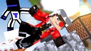 ВЫЖИВАТЬ С ТЕРОСЕРОМ НА ОСТРОВЕ ИЛИ ПРОХОДИТЬ ПАРКУР?! :D Minecraft