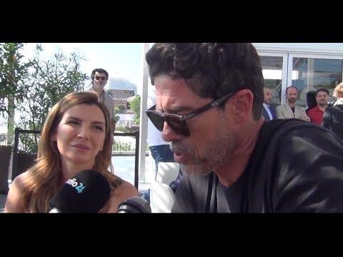 Alessandro Gassmann & Maria Pia Calzone   Videointervista di DailyMood a Venezia 74