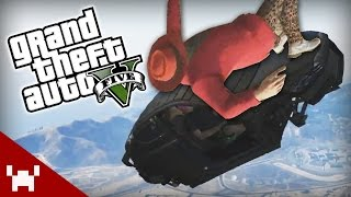 FLYING CAR OF DEATH! (GTA V Online)
