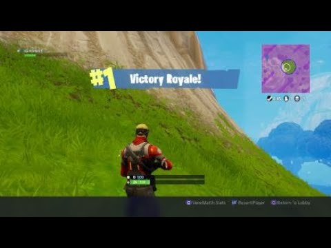 My First Fortnite Victory In Solos (11kills)