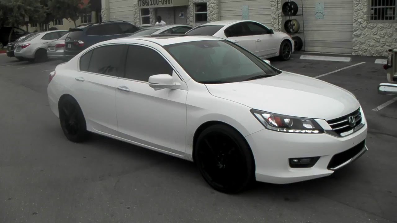 Honda Accord 2011 Black Rims Www Imgkid Com The Image