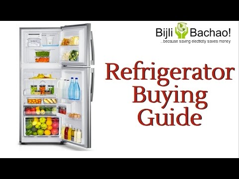 Refrigerators with Inverter technology can help save electricity