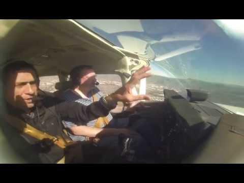 My Flight Lesson-- Hayward, CA (Long Version, 21 mins)-- Feb 21 2015