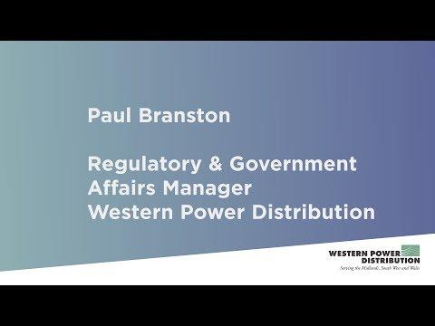 Paul Branston - Regulatory & Government Affairs Manager