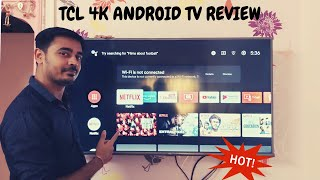 TCL 50 Inch 4K HDR LED Android Smart TV | Unboxing & Review | TCL 50P8E 🔥🔥