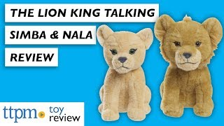 The Lion King Talking Nala and Simba Toy Review from Just Play