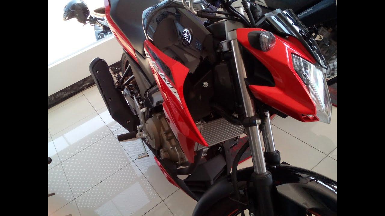 Koleksi Modifikasi Motor New Vixion Warna Merah Terbaru