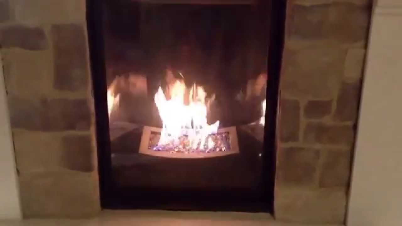 kingsman marquis cove contemporary gas fireplace youtube