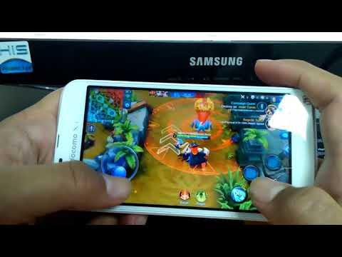 Test Gaming Android 400rban Sharp 06e Mantap!!