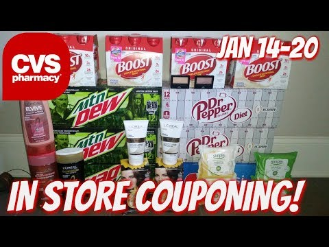 CVS IN STORE COUPONING 1/14/18-1/20/18!  HOT FREEBIES & MONEYMAKERS!