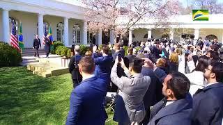 Agenda do Presidente da República, Jair Bolsonaro, nesta terça-feira (19/03) em Washington