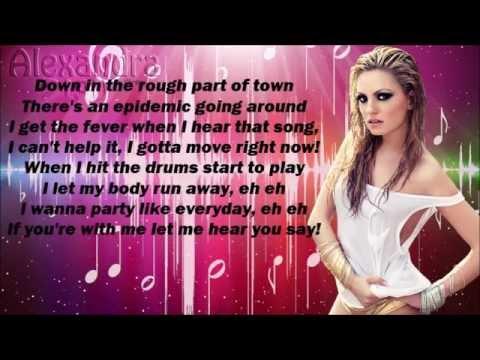 Alexandra Stan & INNA ft. Daddy Yankee - We wanna {lyrics}