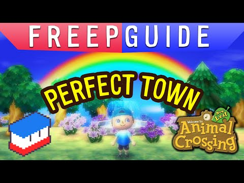 Freepguide Ac Nl Perfect Town Youtube