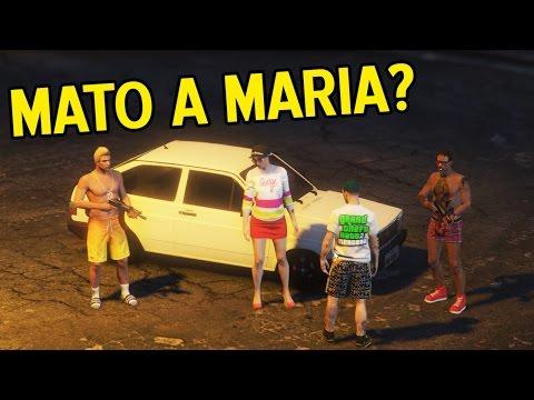 MATO A MARIA? REGULANDO O TURBO DO GOLETA! GTA V: NOVELA DA VIDA REAL EP#50