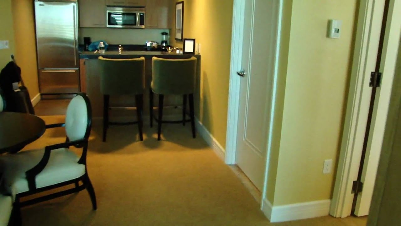 Las Vegas Hotels With 2 Bedroom Suites Trump International Hotel Las Vegas One Bedroom Suite Youtube