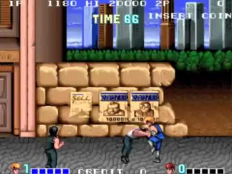 Video Test Double Dragon Amstrad CPC Son THX Dolby Triphasé