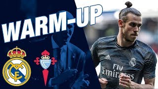 Zidane's return | Real Madrid 2-0 Celta | Warm-up