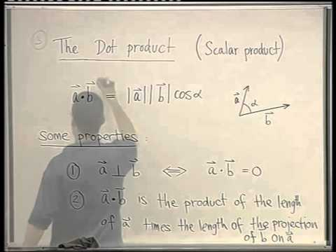 04 - The dot product